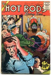 Hot Rods and Racing Cars #22 1955- Giordano- Indy 500- Sprint Cars VG