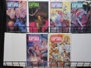 Kaptara by Chip Zdarsky and Kagan McLeod #1-5 (Image 2015) SciFi Fun!