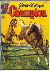 Gene Autry's Champion #7 1952-Dell-the famous horse from the movies-VG/FN