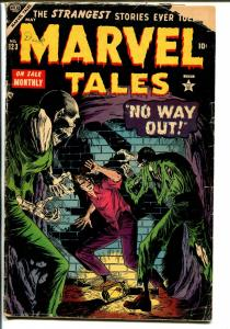 Marvel Tales #123 1954-Atlasvampire story-pre-code horror-G/VG