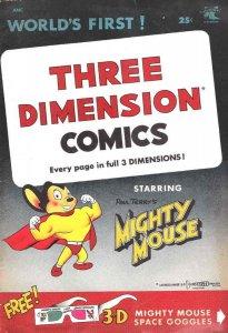 Three Dimension Comics #1 VG; St. John | low grade comic - save on shipping - de