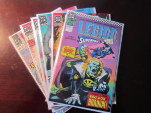 Legion (1989) Annual #1 + Legion (1989 1st Series) #3-6 + #13 - 9.0 - 1989-1990