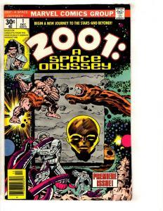 2001 A Space Odyssey # 1 VF Marvel Comic Book Jack Kirby Series Art J293