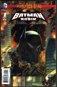 Futures End Batman & Robin 3-D Cover (2014, DC) 9.6 NM+
