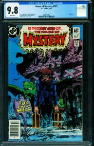 House of Mystery #321 CGC 9.8 LAST ISSUE Newsstand 2038910002