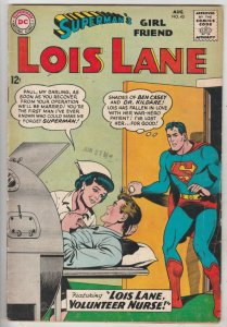 Lois Lane, Superman's Girlfriend  #43 (Aug-63) FN Mid-Grade Superman, Lois Lane