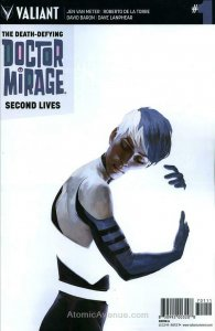 Death-Defying Doctor Mirage, The: Second Lives #1A VF/NM; Valiant | save on ship
