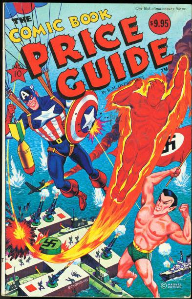 OVERSTREET COMIC BOOK PRICE GUIDE #10-SCHOMBURG-CAP CVR VF