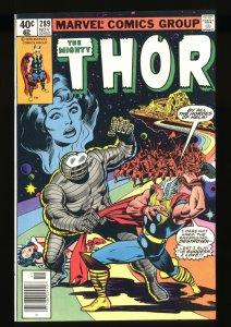 Thor #289 NM+ 9.6 Destroyer Rainbow Bridge!