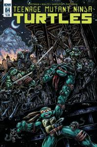 TMNT Teenage Mutant Ninja Turtles #84 Cvr B (IDW, 2018) NM