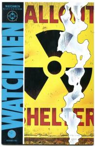 WATCHMEN #3 comic book 1986-DAVID GIBBONS-ALAN MOORE-DC COMICS-