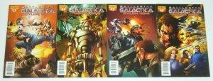 Battlestar Galactica: Cylon War #1-4 VF/NM complete series  all segovia variants