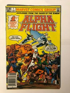 Alpha Flight #1 - First Issue