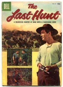 Last Hunt- Four Color Comics #678 1955- Robert Taylor VG