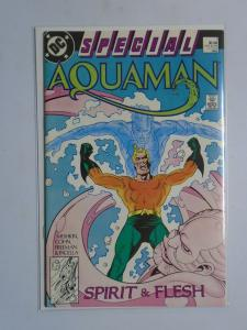 Aquaman Special (DC) #1, 6.0 (1988) Spirit & Flesh! A 48-Page