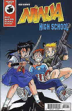 Ninja High School #62 VF/NM; Malibu | save on shipping - details inside