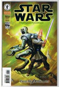 STAR WARS #6, NM+, Prelude to Rebellion, Jan Strnad, 1998, more SW in store