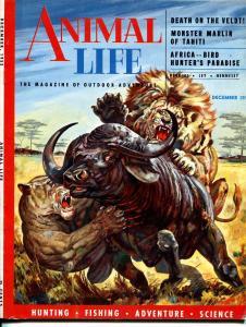 Animal Life #1 12/1965-1st issue-high grade-dinosaurs-gorillas-VF-