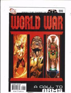 Lot of 4 World War DC Comic Books #1 2 3 4 KS4