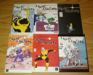 Night Masters #1-6 FN complete series - custom pic - fanmail from kev o'neill
