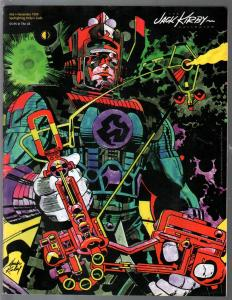 Jack Kirby Collector #26 1999-Kirby art and info-New Gods-VF