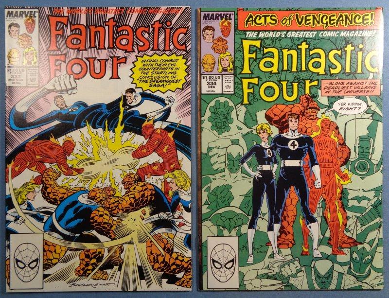 Fantastic Four Lot #325-349 Complete Run VF Spider-Man Hulk Ghost Rider