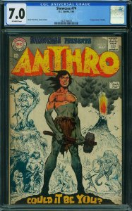 Showcase #74 CGC 7.0 -- 1st Appearance of ANTHRO -- Howie Post Art DC May 1968