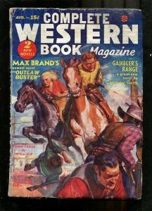 COMPLETE WESTERN PULP-1937-AUGUST-RARE MAX BRAND STORY! G