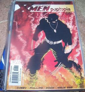 UNCANNY X-MEN #398 2001 marvel WOLVERINE poptopia