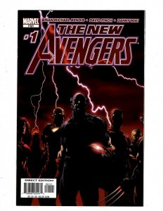 12 New Avengers Marvel Comic Books # 1 2 3 4 5 6 7 8 9 10 12 + Annual # 1 HY5