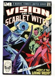 Vision and the Scarlet Witch #1-1982-comic book-Infinity War