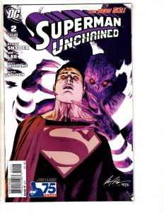 Lot Of 6 Superman Unchained DC NEW 52 Comic Books # 2 (2) 3 4 5 6 Batman TW59