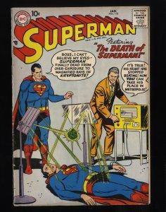 Superman #118 FA/GD 1.5