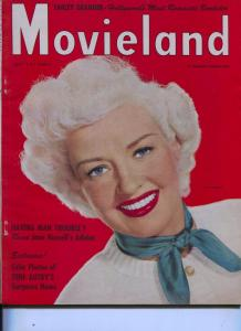 Movieland-Betty Grable-Jane Russell-Gene Tierney-Anne Baxter-Sept-1950