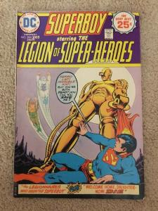 DC Superboy 206 Starring The Legion Of Super-Heroes