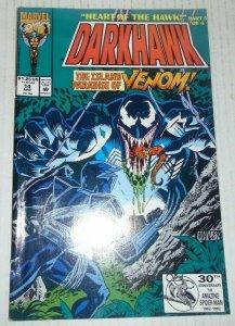 DarkHawk # 14 April 1992 Marvel