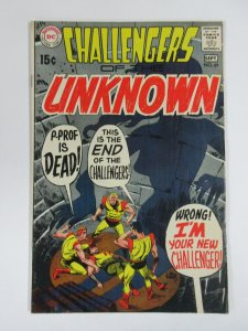 CHALLENGERS OF THE UNKNOWN 69 VG 9/1969