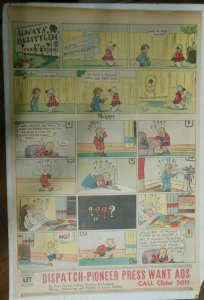 Skippy Sunday Page by Percy Crosby from 9/4/1938 Size: 15 x 22 inches Full Page