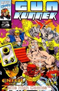GUN RUNNER (1993 Series) #4 Fair Comics Book