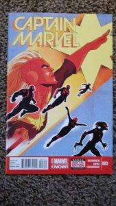 Captain Marvel #3 (2014) VF-NM