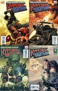 SQUADRON SUPREME HYPERION VS NIGHTHAWK  1-4