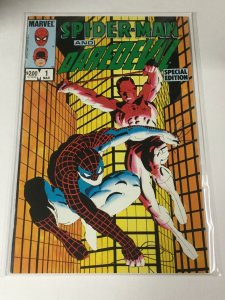 Spider-Man And Daredevil 1 Nm Near Mint Marvel