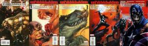 ULTIMATES 3 (2008) 1B,2-4,5B  The complete series!