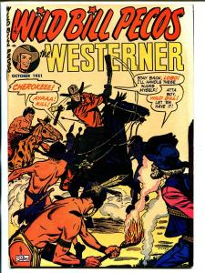 Westerner #40 1951-Patches-indian torture cover-Syd Shores-VF/NM