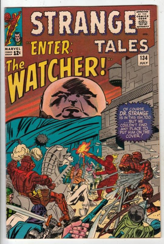 Strange Tales #134 (Jul-65) NM- High-Grade Human Torch, the Thing, Doctor Str...