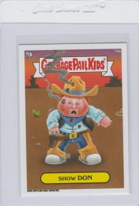 Garbage Pail Kids Show Don 14a GPK 2014 Series 1 trading card sticker