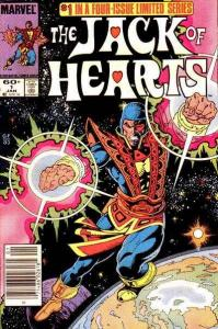 Jack of Hearts #1, VF (Stock photo)