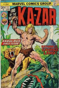 Ka-Zar #1 (1974 v2) Shanna the She-Devil GD