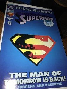 DC Superman #78 Mint