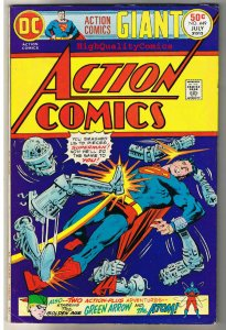 ACTION COMICS #449, FN+, Superman, Giant Size,1938, more SM in store